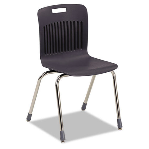 Virco Analogy Ergonomic Stack Chair VIRAN18ELB01CRM,  (UPC:882659302052)