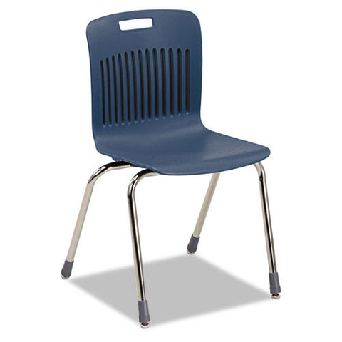 Virco Analogy Ergonomic Stack Chair VIRAN18ELB51CRM,  (UPC:882659302069)