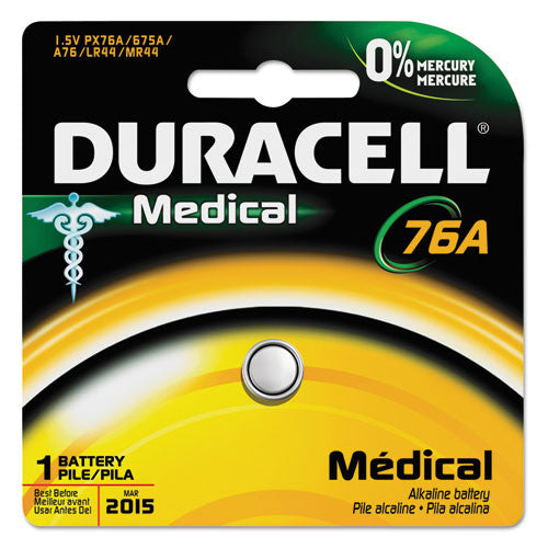 Duracell 76A Special Application Battery ; (041333293875)