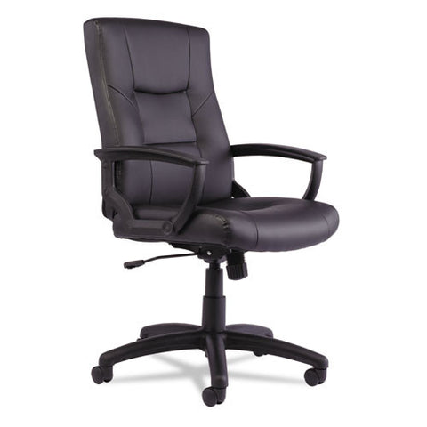 Alera YR Series Executive High-Back Swivel/Tilt Leather Chair ALEYR4119,  (UPC:042167392376)
