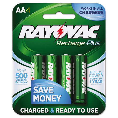 Rayovac PL715-4B Rechargeable AA Battery ; (012800519774)
