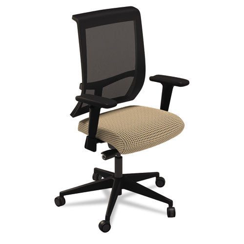Mayline Commute Series Mesh Back Task Chair MLNC1BB2ELT, Beige (UPC:760771280970)