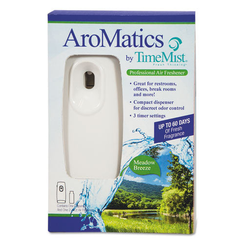 TimeMist AroMatics Meadow Breeze Air Freshener Dispenser Kit ; (021709018486)