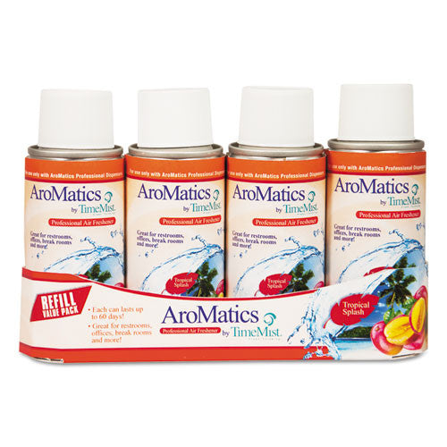 TimeMist AroMatics Tropical Splash Air Freshener Dispenser Kit ; (021709018493)