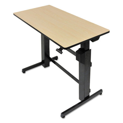 Ergotron WorkFit-D, Sit-Stand Desk (Birch Surface) ERG24271928, Black (UPC:698833031850)