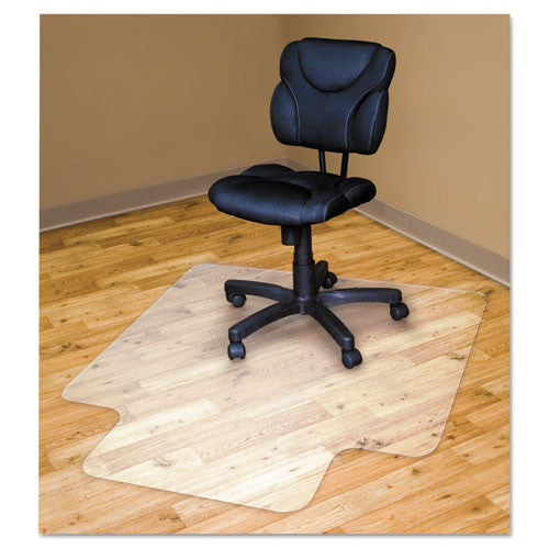 Advantus Hard Floor Recycled Chairmat with Lip AVT50221,  (UPC:091141502218)