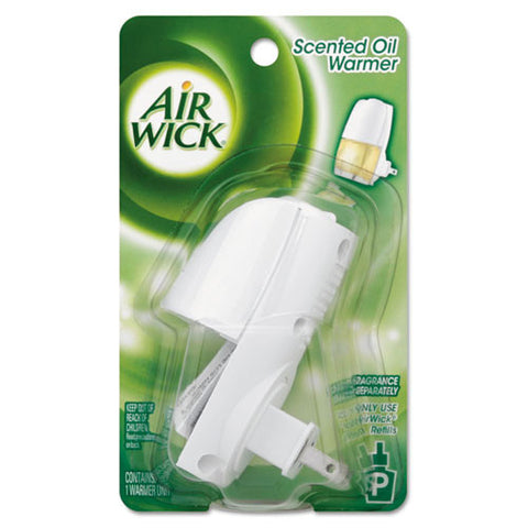 Airwick Scented Oil Warmer Unit ; (062338780467); Color:White