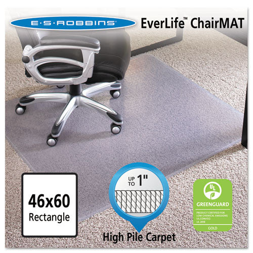 ES Robbins AnchorBar Chair Mat ESR124377, Clear (UPC:012544243775)
