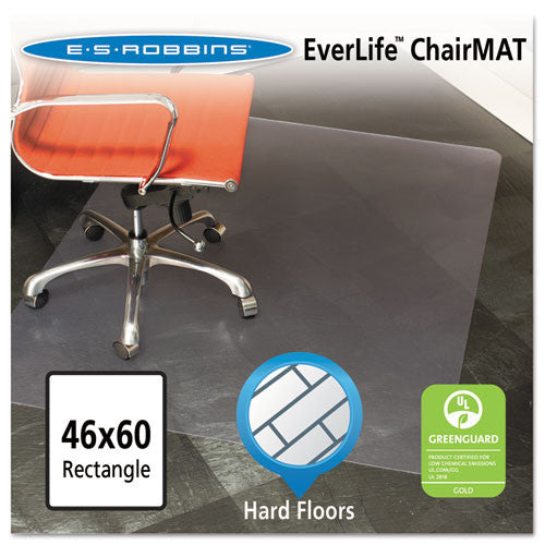 ES Robbins Hardwood Floor Chair Mat ESR132321, Clear (UPC:012544323217)