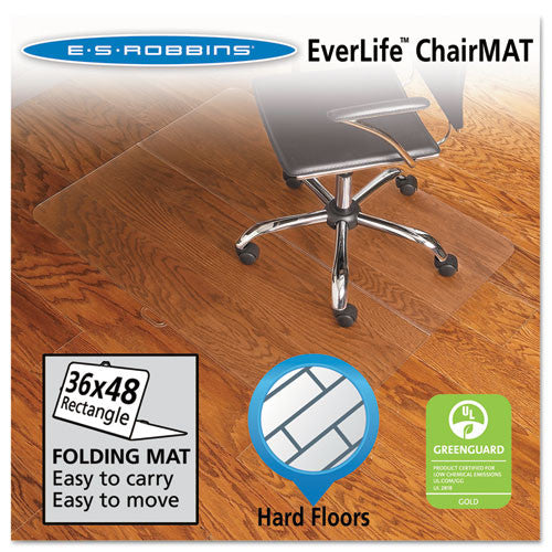 ES Robbins Chair Mat ESR130082, Clear (UPC:012544300829)