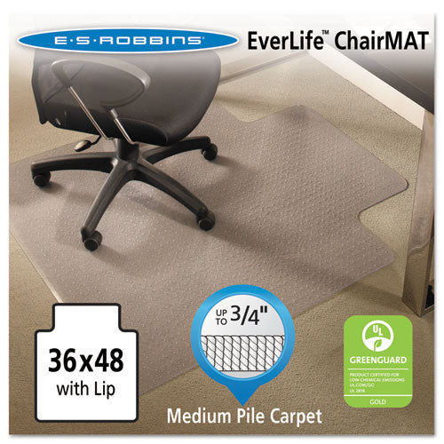 ES Robbins AnchorBar Chair Mat ESR122073, Clear (UPC:012544220738)
