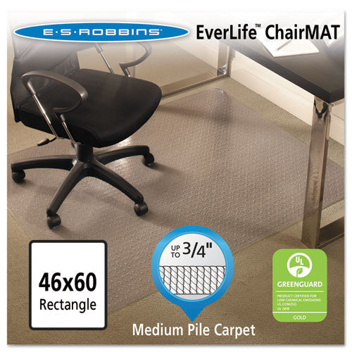 ES Robbins AnchorBar Chair Mat ESR122371, Clear (UPC:012544223715)