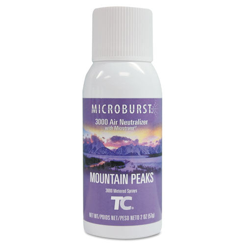 Rubbermaid Commercial Microburst 3000 Mountain Peaks Air Spray ; (763905012577)