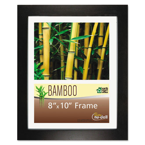 Glolite Nu-dell Earth Friendly Bamboo Frames ; (042122141810); Color:Black,Clear Cover