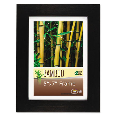 Glolite Nu-dell Earth Friendly Bamboo Frames ; (042122141575); Color:Black,Clear Cover