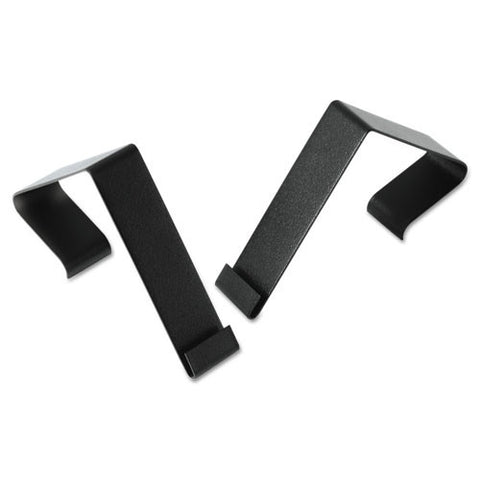ACCO Matrix Cubicle Partition Hangers QRTMCH10, Black (UPC:034138029336)