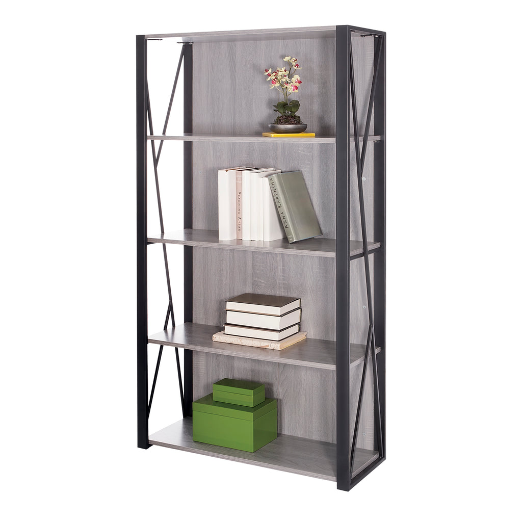 Safco Products Mood Bookcase 1903GR(Image 1)
