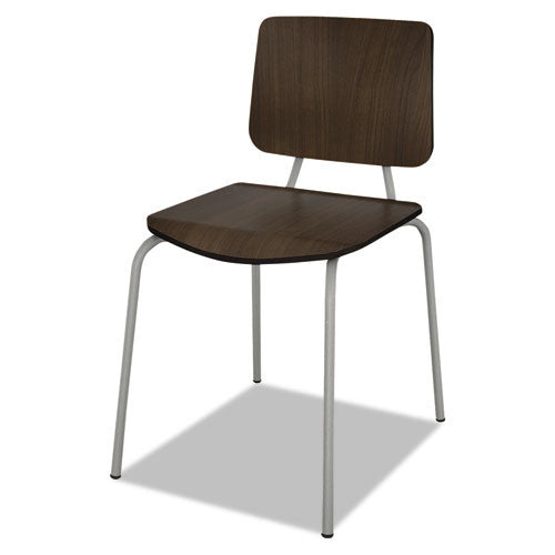 Linea Italia Trento Line Sienna Stacking Chair LITTR508MOC,  (UPC:712820705088)