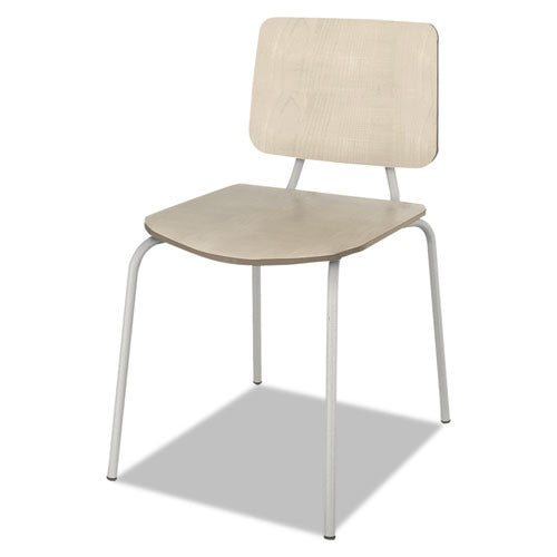 Linea Italia Trento Line Sienna Stacking Chair LITTR508OAT,  (UPC:712820885087)