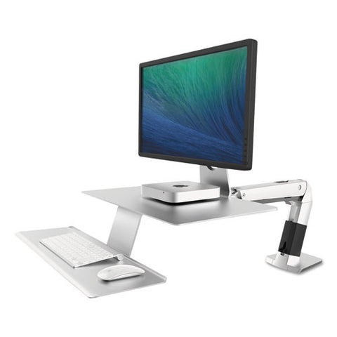 Ergotron WorkFit-A Sit-Stand Workstation with Suspended Keyboard ERG24422227,  (UPC:698833040715)