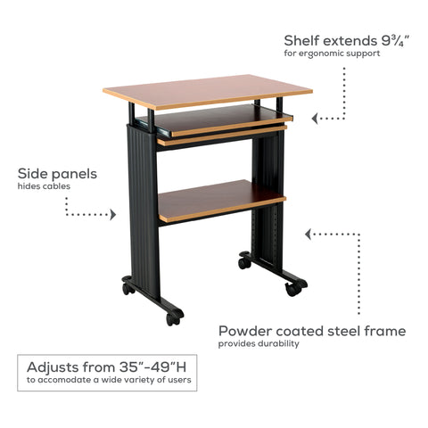 Safco Products Muv Stand-up Adjustable Height Desk 1929MO(Image 2)