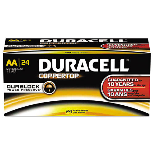 Duracell Coppertop General Purpose Battery ; (041333515489)