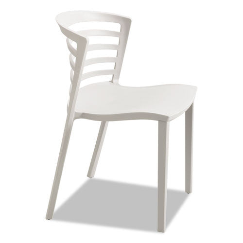 Safco Entourage Stack Chairs SAF4359GR,  (UPC:073555435917)