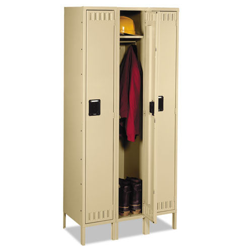 Tennsco Single-Tier Locker TNNSTS1218723SD, Green (UPC:044767107381)
