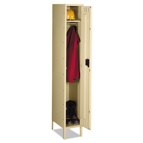 Tennsco Single-Tier Locker with Legs TNNSTS1218721SD,  (UPC:044767107404)