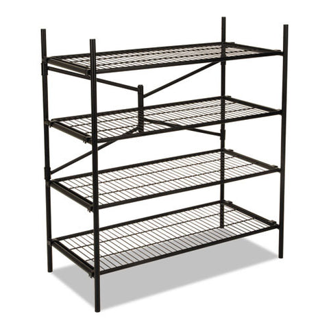 Cosco Instant Storage Shelving Unit CSC66714BLK1E,  (UPC:044681660436)
