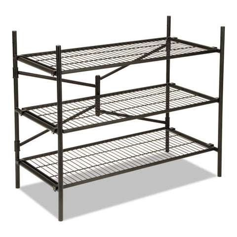 Cosco Instant Storage Shelving Unit CSC66713BLK1E,  (UPC:044681660429)