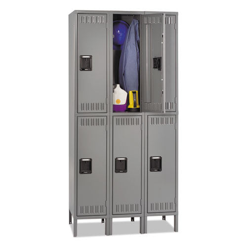 Tennsco Double Tier Locker TNNDTS1218363MG,  (UPC:044767118448)