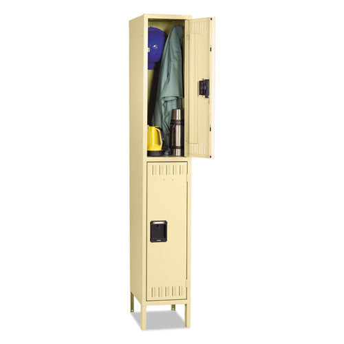 Tennsco Double Tier Locker TNNDTS1218361SD,  (UPC:044767107152)