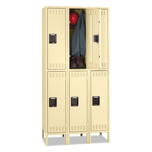 Tennsco Double Tier Locker TNNDTS1218363SD,  (UPC:044767107138)