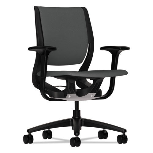 HON Purpose Mid-Back Chair in Iron Ore ; UPC: 888206519737