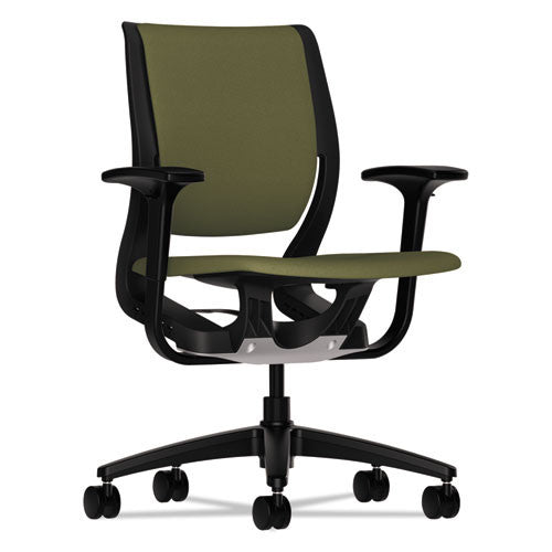 HON Purpose Mid-Back Chair in Olivine ; UPC: 888206832782