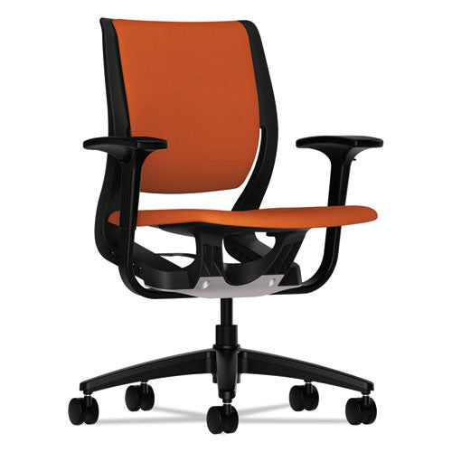 HON Purpose Mid-Back Chair in Tangerine ; UPC: 782986661122