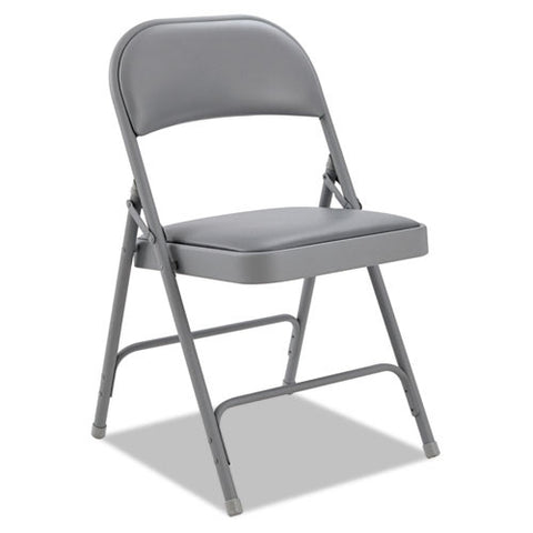 Alera Steel Folding Chair with Two-Brace Support ALEFC96G,  (UPC:042167960315)