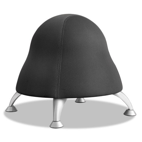 Safco Runtz Ball Chair ; Black ; SAF4755BL
