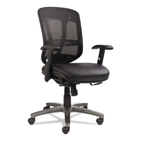 Alera Eon Series Multifunction Mid-Back Leather/mesh Chair ; UPC: 42167392390