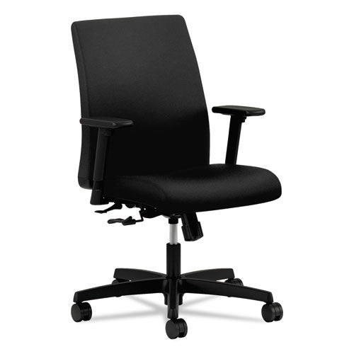 HON Ignition Low-Back Task Chair in Black ; UPC: 089191212867