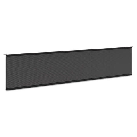 "Modesty Panel for 72""W Worksurface in Black ; UPC: 888531612370"
