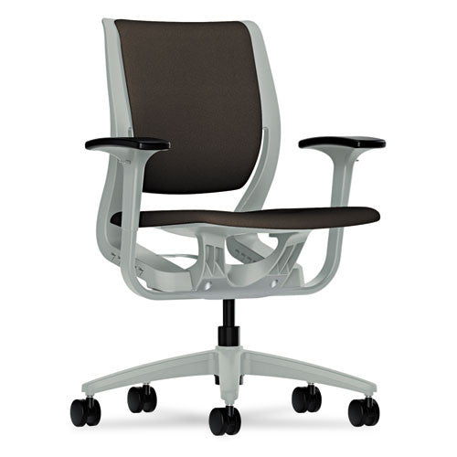 HON Purpose Mid-Back Chair in Espresso ; UPC: 089191452843