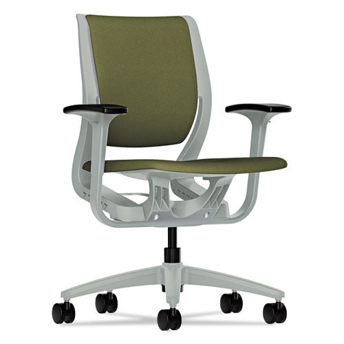 HON Purpose Mid-Back Chair in Olivine ; UPC: 089192776559