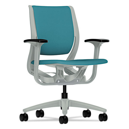HON Purpose Mid-Back Chair in Glacier ; UPC: 089191402329