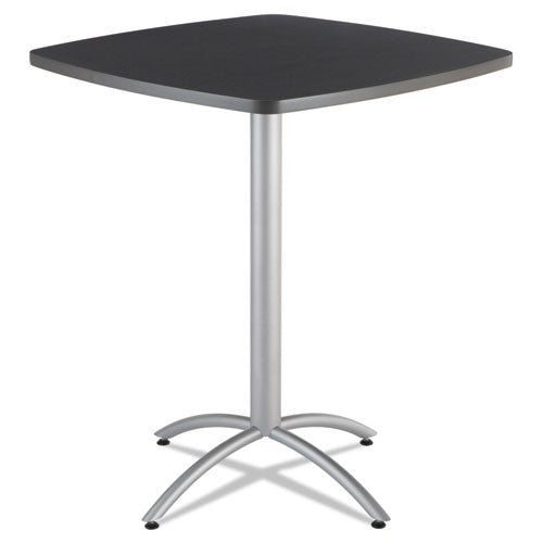 "Iceberg CafeWorks 36"" Square Bistro Table ICE65638, Gray (UPC:674785656389)"