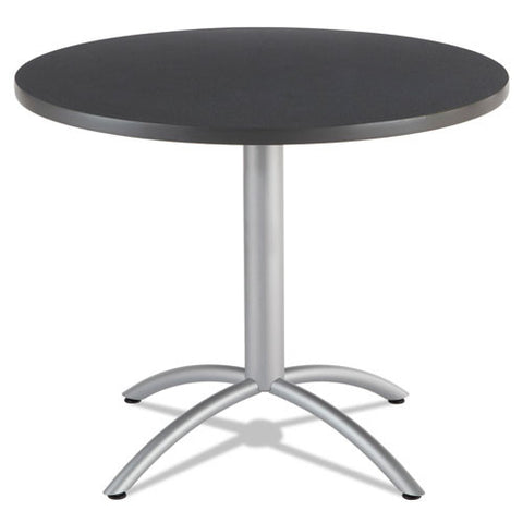 "Iceberg CafeWorks 36"" Round Cafe Table ICE65628, Gray (UPC:674785656280)"