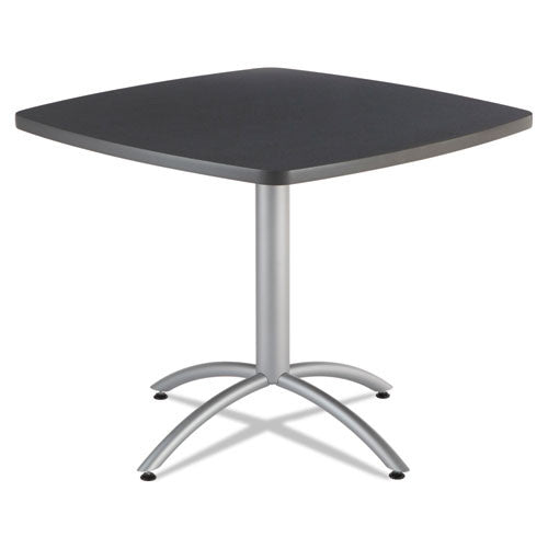 "Iceberg CafeWorks 36"" Square Cafe Table ICE65618, Gray (UPC:674785656181)"