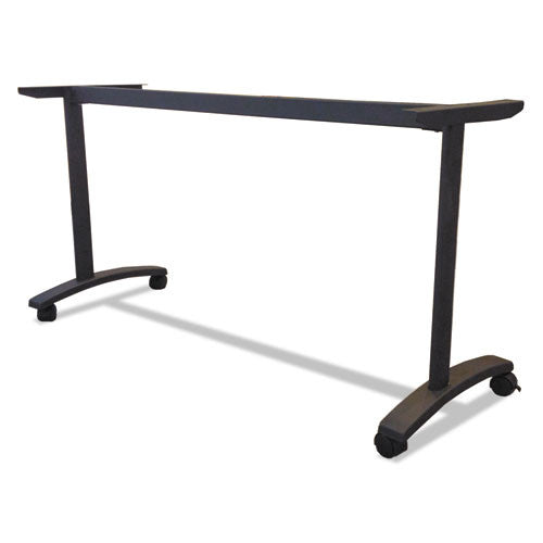 Alera Valencia Series Training Table T-Leg Base ALEVA7476BK,  (UPC:042167303709)