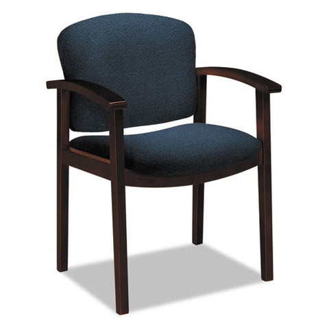 HON Invitation 2111 Single Rail Arm Chair HON2111NAB90, Blue (UPC:020459511308)
